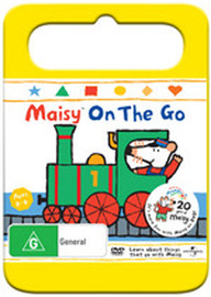 Maisy On The Go: (Vol. 4) - Yellow Handle Packaging on DVD