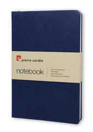 Pierre Cardin: A5 Hard Cover Notebook - Blue