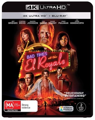 Bad Times At The El Royale on UHD Blu-ray image