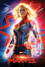 Captain Marvel Maxi Poster - Higher, Further, Faster (984)