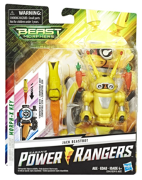 "Power Rangers: Beast Morphers - Jack Beastbot 6"" Action Figure image"