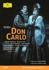 Verdi: Don Carlo (2 Disc Set) on DVD