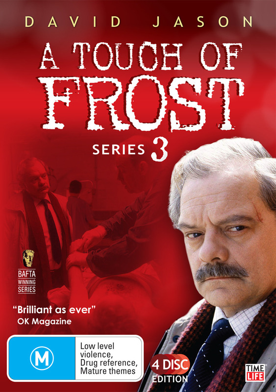 A Touch Of Frost - Series 3 (4 Disc Set) on DVD