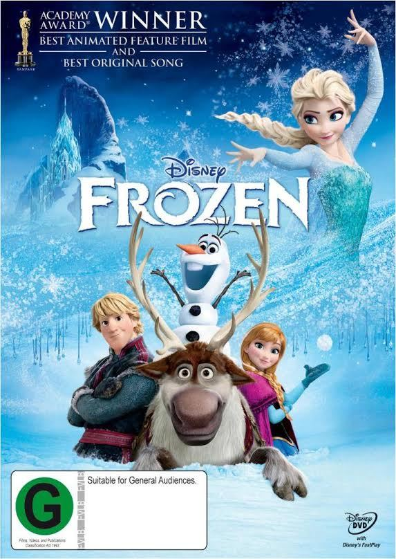 Frozen on DVD image