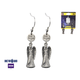 Doctor Who Weeping Angel Dangle Earrings