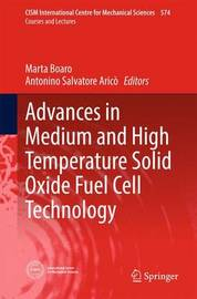 Advances in Medium and High Temperature Solid Oxide Fuel Cell Technology image