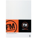 FM A3 L-Shape Pocket Holder - Clear (Pack 5)