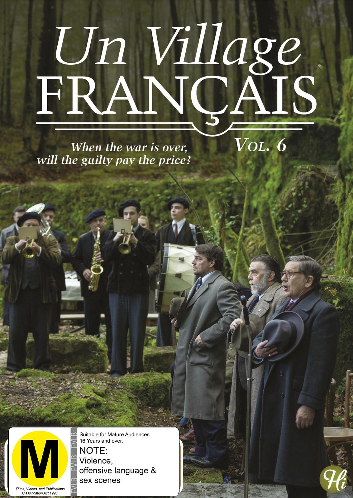 Un Village Francais - Vol.6 on DVD image