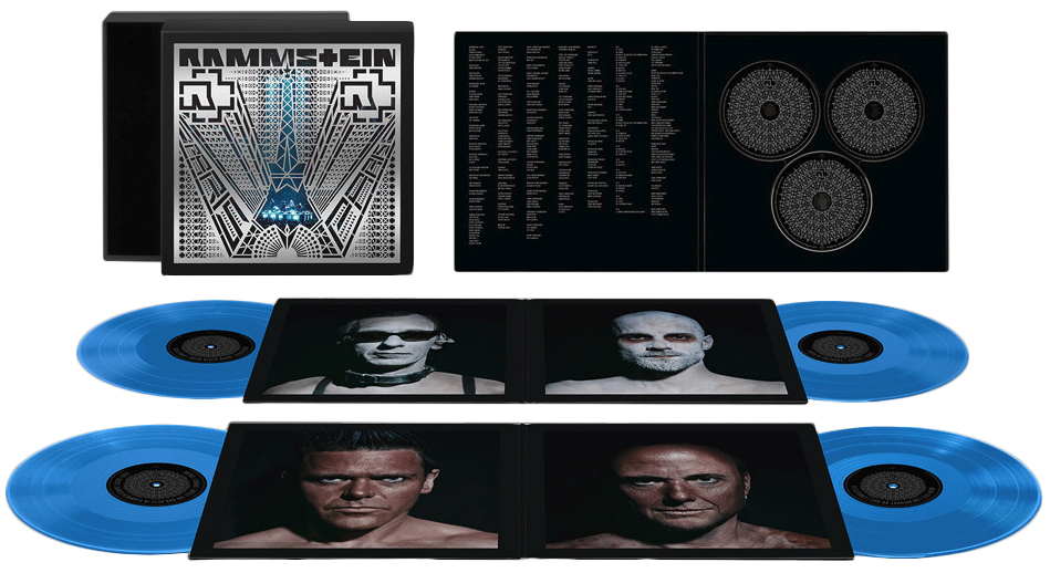Paris Vinyl Box (4x Vinyl Box Set, 2CD+Blu-ray) by Rammstein image