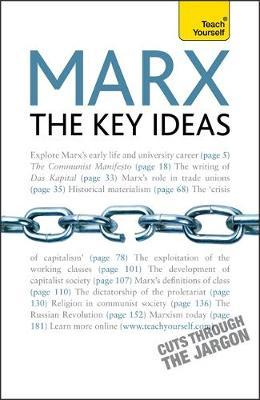 Marx - The Key Ideas: Teach Yourself by Gill Hands image