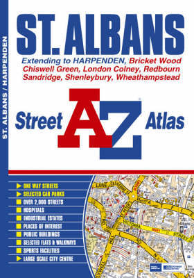 St Albans Street Atlas by Geographers A-Z Map Company image