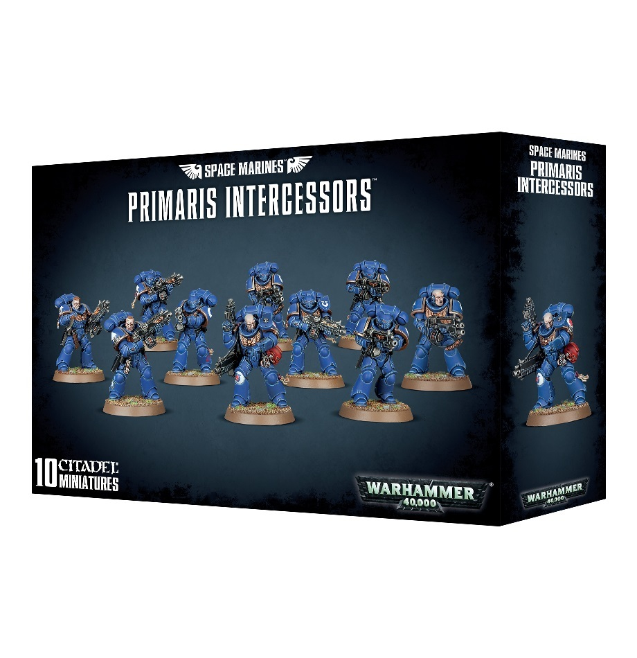 Warhammer 40,000 : Space Marines Primaris Intercessors image