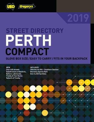 Perth Compact Street Directory 2019 12th ed by UBD / Gregory's