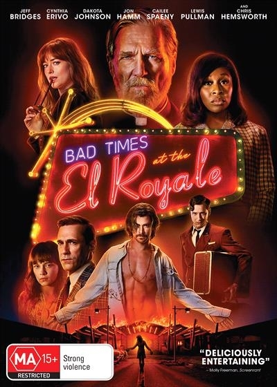 Bad Times At The El Royale on DVD image