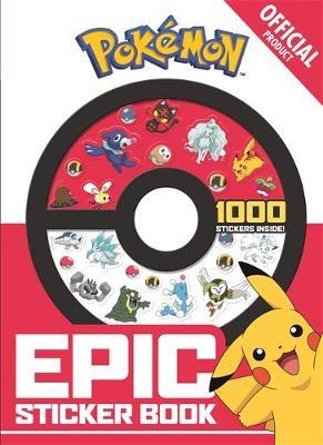 The Official Pokemon Epic Sticker Book by Pokemon image