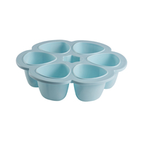 Beaba: Silicone Multiportions - 6 x 150ml (Blue)
