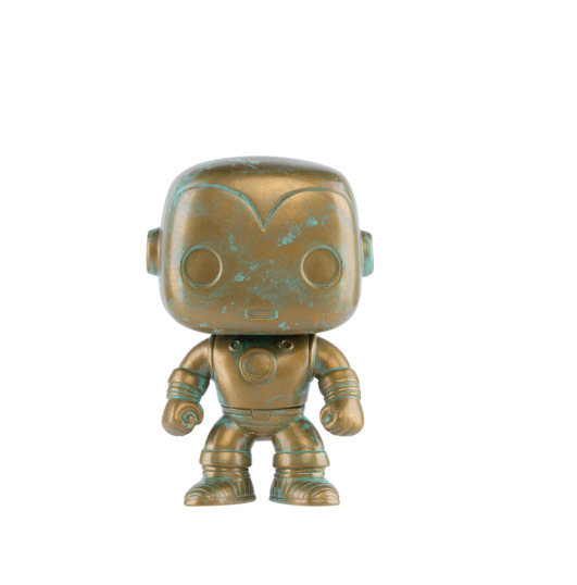 Marvel - Iron Man (Patina Ver.) Pop! Vinyl Figure