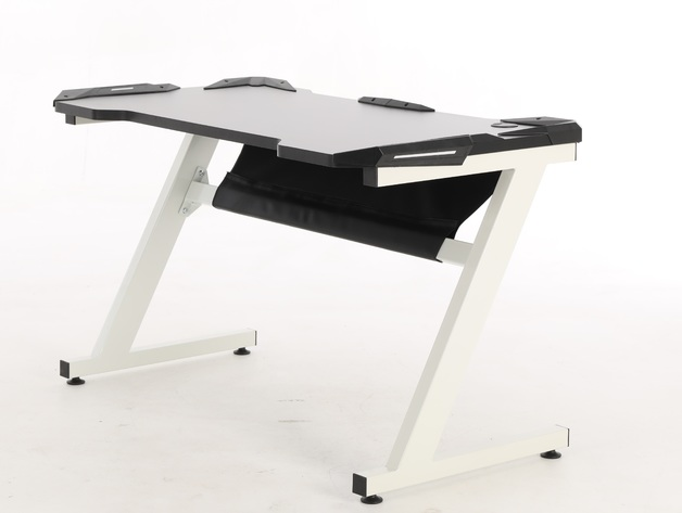 Playmax Gaming Desk - White for