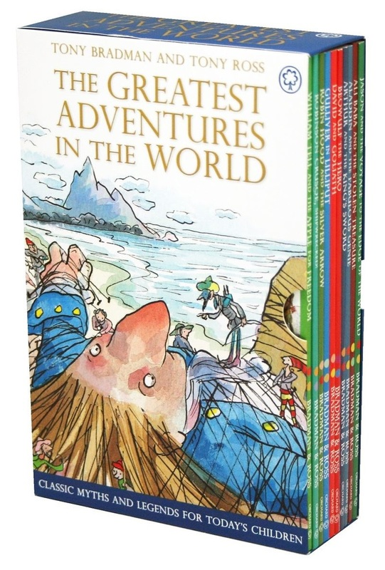 The Greatest Adventures in the World - 10-Copy Slipcase by Tony Bradman