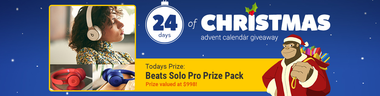 24 Days: Beats Solo Pro Prize Pack