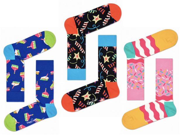 Happy Socks: Gift Box - Happy Birthday (36-40)