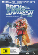 Back To The Future Part II on DVD