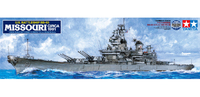 Tamiya U.S. Battleship BB-63 Missouri 1991 1/350 Ship Model Kit