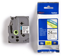Brother TZe-251 Tape - Black on White (24mm x 8m)