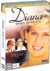 Diana - Queen Of Hearts: A Life To Remember: 1961-1997 - 10 Year Anniversary Collector's Edition on DVD
