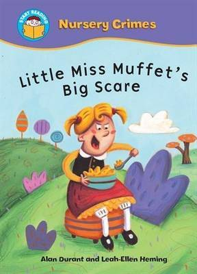 Little Miss Muffet's Big Scare by Alan Durant image
