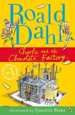 Charlie and the Chocolate Factory by Roald Dahl image