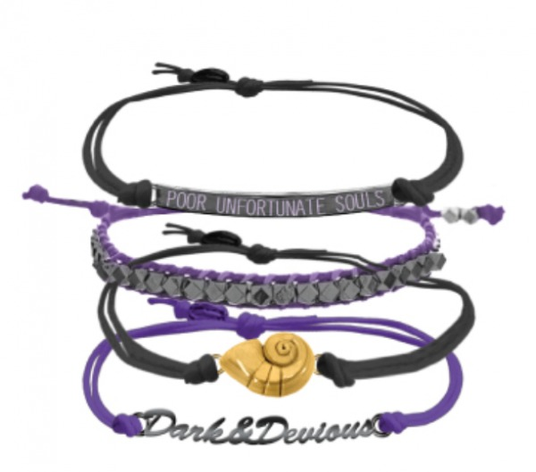 Neon Tuesday: The Little Mermaid - Dark And Devious Bracelet Set image