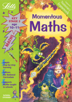 Momentous Maths by Lynn Huggins Cooper image