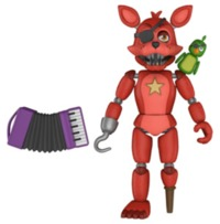 """Five Nights at Freddy's - Rockstar Foxy 5"""" Articulated Figure"""