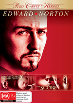 Red Carpet Heroes - Edward Norton (American History X / The Score) (2 Disc Set) on DVD