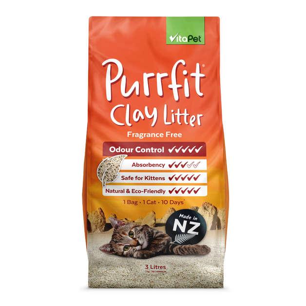 Vitapet: Purrfit Clay Litter (3L)