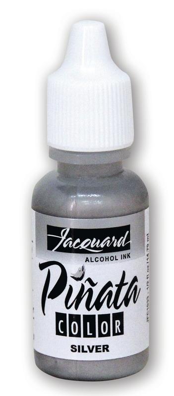 Jacquard: Pinata Alcohol Ink - Silver 033 (14.79ml)