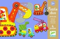 Djeco: Articulo Vehicles Puzzle Duo
