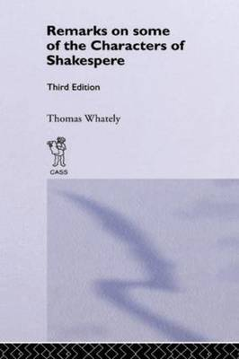Remarks on Some of the Characters of Shakespeare image