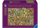 Ravenburger - The Magical Bookcase Puzzle (18000pc)