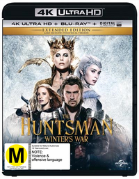 The Huntsman: Winter's War - Extended Edition (4K UHD + Blu-ray) DVD