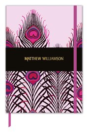 Museum & Galleries: Matthew Williamson Deluxe Journal - Peacock Heart