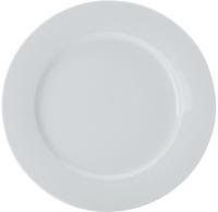 Casa Domani Casual White Rim Entree Plate 23cm