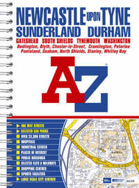 Newcastle Upon Tyne Street Atlas by Geographers A-Z Map Company image