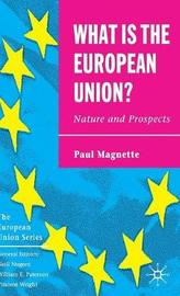 What is the European Union by Paul Magnette image