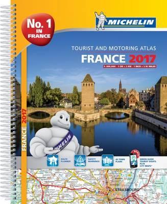 France Atlas 2017 by Michelin