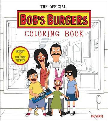 Official Bobs Burgers Colouring Book by L Bouchard