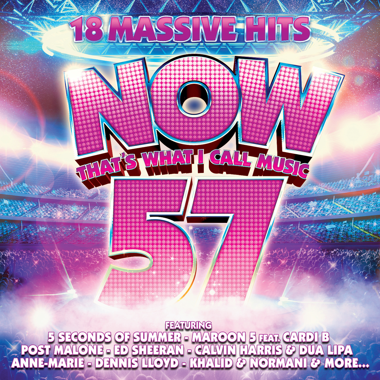 Now That's What I Call Music Vol 57 by Various Artists image