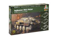 Italeri 1/56 Jagdpanzer (Warlord Games) - Scale Model Kit