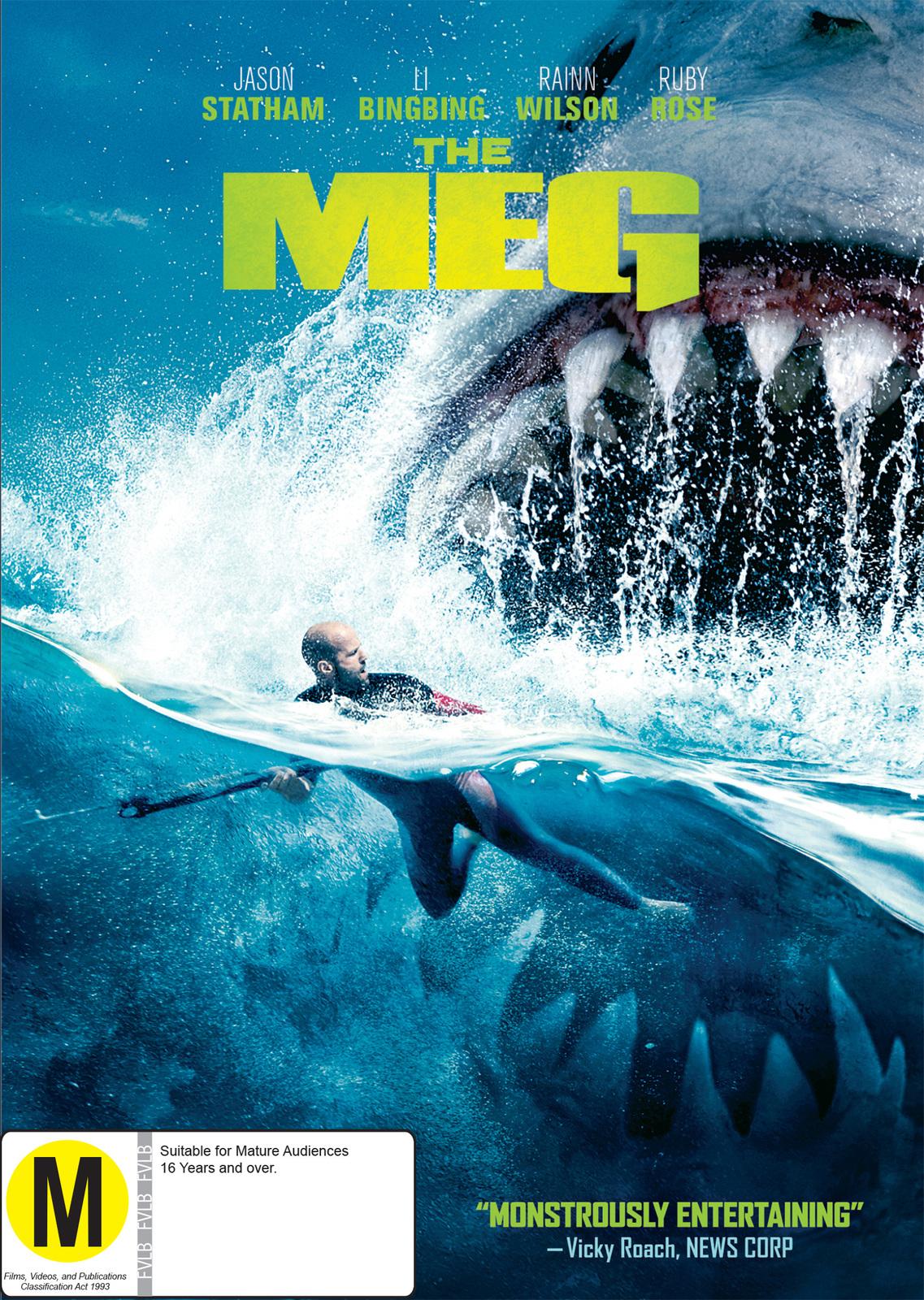 The Meg on DVD image